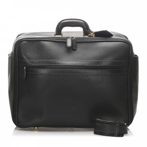 Gucci Travel Bag black leather