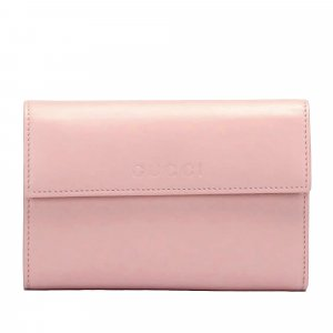Gucci Leather Trifold Wallet
