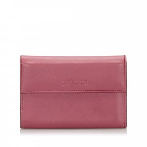 Gucci Wallet pink leather
