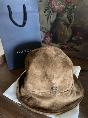 Gucci Panama Hat brown
