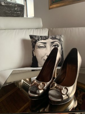 Gucci Leder Schuhe