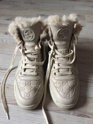 Gucci Leder Schuhe Gr. ≅ 40,5-41