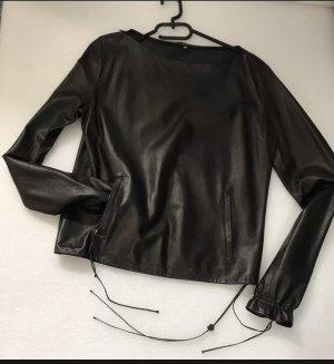 Gucci Blouse en cuir noir cuir