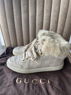 Gucci Leder Sneakers