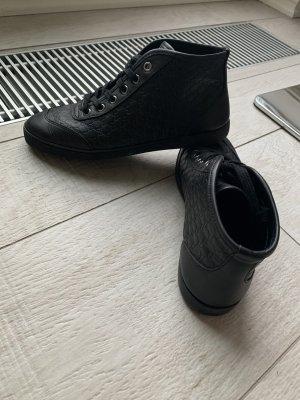 Gucci leder sneakers mit monogram 36 neuwertig