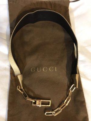 Gucci Cinturón pélvico color oro-negro