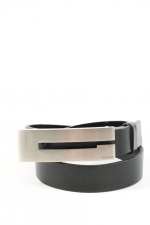 Gucci Leather Belt black business style