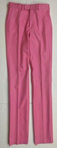Gucci Skórzane spodnie różowy Skóra