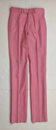 Gucci, Lederhose, rosa, 36 (It. 40), neu, € 2.000,-