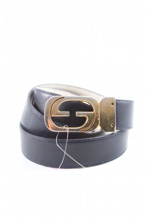 Gucci Lederimitatgürtel blau Casual-Look