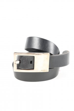 Gucci Faux Leather Belt black business style