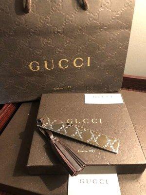 Gucci Pendentif argenté-brun