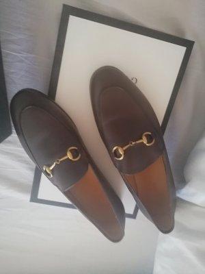Gucci Pantofola marrone scuro