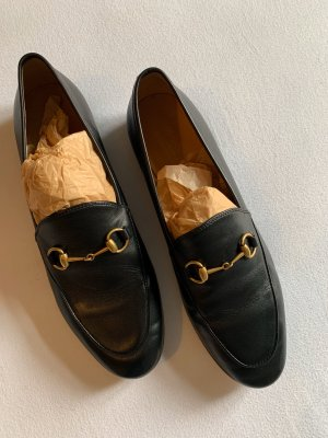 Gucci Loafer Schwarz in 39,5 Slipper Lederslipper Neu Jordaan