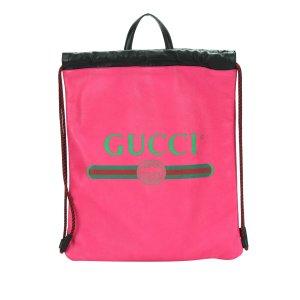 Gucci Rugzak rosé Leer