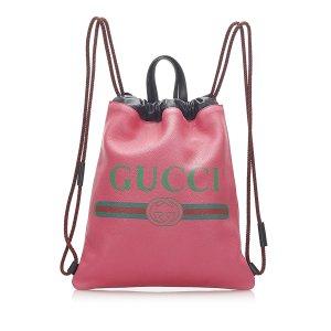Gucci Zaino rosa pallido Pelle