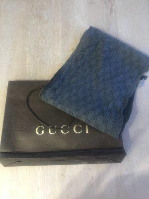 Gucci Écharpe ronde gris-gris anthracite