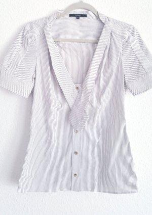 Gucci Bluzka z krótkim rękawem biały-ciemnobrązowy