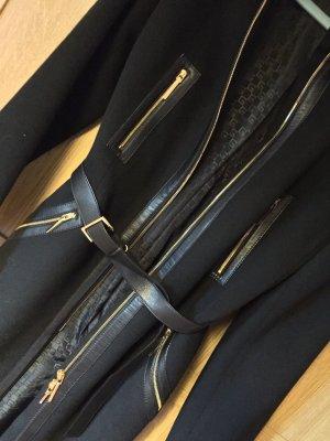 Gucci Wollen jas zwart-goud