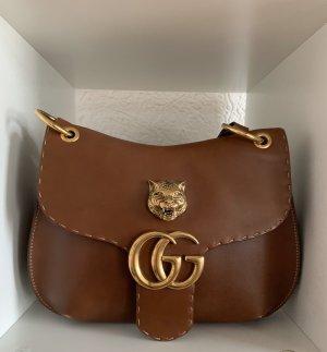 Gucci Borsa a tracolla marrone chiaro-bronzo