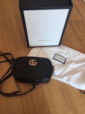 Gucci Mini sac noir cuir