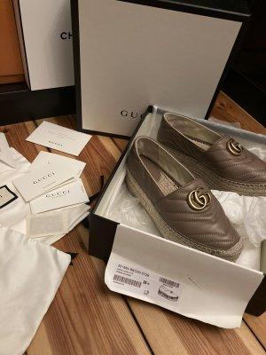 Gucci Espadrille sandalen veelkleurig Leer