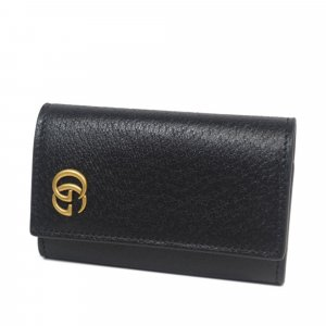 Gucci Marmont Leather Key Holder