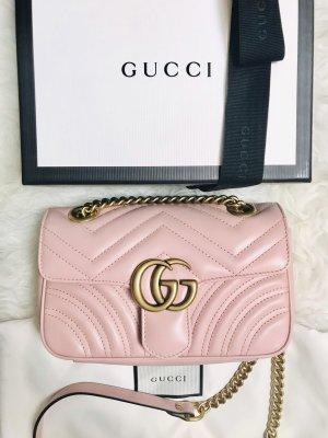 Gucci Borsa a spalla oro-rosa Pelle