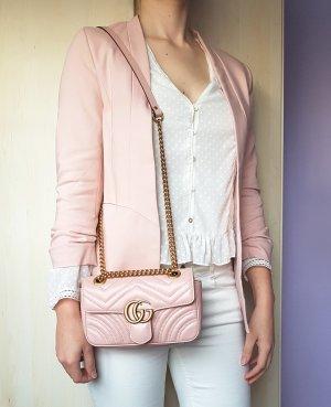 Gucci Marmont Mini Flap Bag Perfect Pink Rosa
