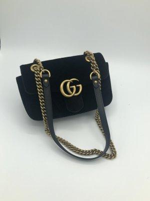 Gucci Marmont Mini schwarz mit RECHNUNG