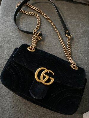 Gucci Marmont Mini-Tasche Samt