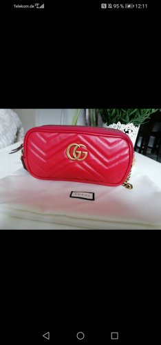 Gucci Marmont red- Neu