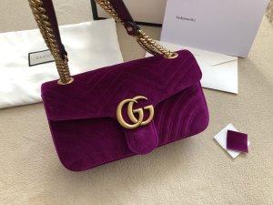 Gucci Marmont samt small