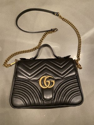 Gucci Handtas zwart-goud