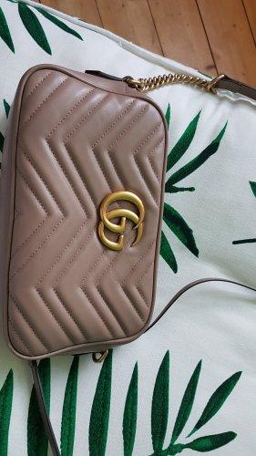 Gucci Marmont Tasche  Braun/ Beige Fullset ❤❤