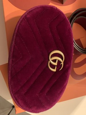 Gucci Marmont Velvet Beltbag