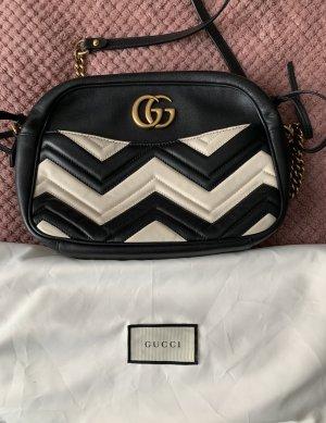 Gucci Schoudertas zwart-wit