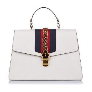 Gucci Maxi Sylvie Leather Satchel