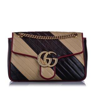 Gucci Medium GG Marmont Leather Shoulder Bag