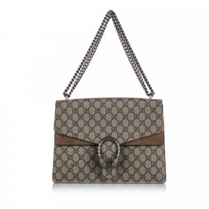 Gucci Medium GG Supreme Dionysus Shoulder Bag