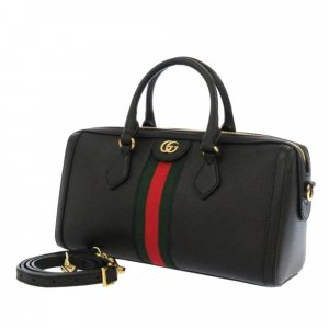 Gucci Medium Ophidia Leather Satchel
