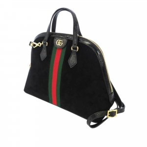 Gucci Medium Ophidia Suede Satchel