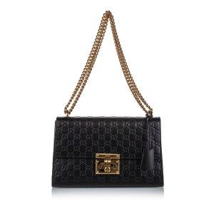 Gucci Medium Signature Padlock Shoulder Bag