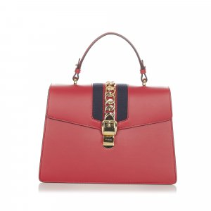 Gucci Sacoche rouge cuir