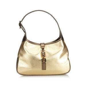 Gucci Metallic Leather Jackie