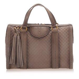 Gucci Microguccissima Boston Bag