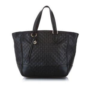 Gucci Microguccissima Bree Leather Satchel