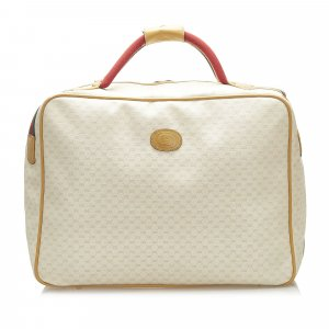 Gucci Microguccissima Coated Canvas Travel Bag