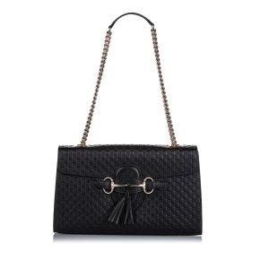 Gucci Microguccissima Emily Shoulder Bag