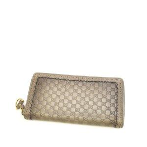 Gucci Microguccissima Horsebit Long Wallet